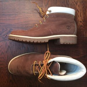 Timberland Boots Chocolate Brown Oiled Nubuck